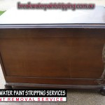 Blanket Box stripped in non-caustic