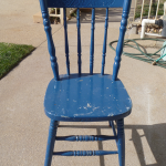 kangaroo chair (cottage chair). The chairs are made from a mixture of timber.