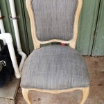 Dinning Chair stripped in non-caustic Timber (Oak)