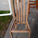 Dinning Chair stripped in non-caustic Timber (Beech)