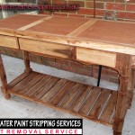 Bench with 3Draws Timber