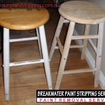 Kitchen Stool stripped in non-caustic Timber (Pine)